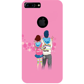GripIt Lovers Printed Case for Apple iPhone 7 Plus