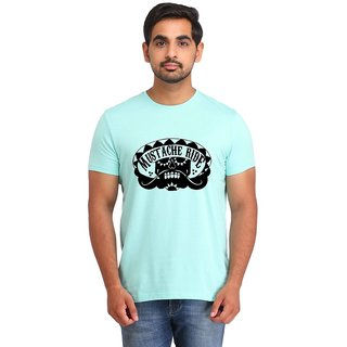 Snoby Moustache Ride print t-shirt