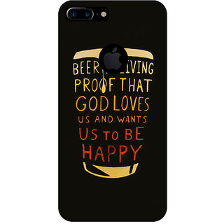 GripIt Beer Is Proof Printed Case for Apple iPhone 7 Plus