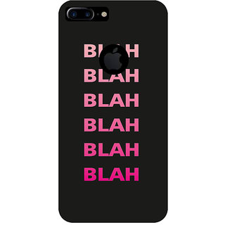 GripIt BLAH BLAH Printed Case for Apple iPhone 7 Plus