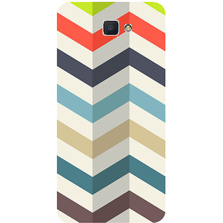 GripIt Zig Zag Printed Case for Samsung Galaxy J7 Prime