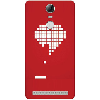 GripIt Digital Heart Case for Lenovo K5 Note