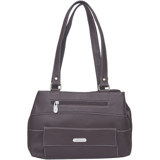 JH handbag Purple Plain Casual  Handbag