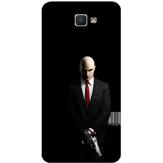 GripIt Hitman Printed Back Cover for Samsung Galaxy J7 Prime