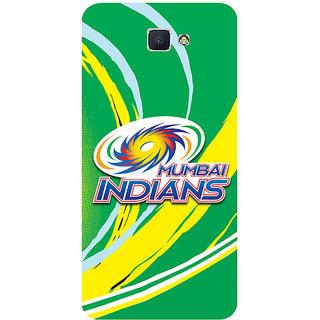 GripIt Mumbai Indians (GREEN) Case for Samsung Galaxy J7 Prime