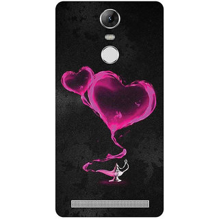 GripIt Pink Hearts From The Magic Lamp Case for Lenovo K5 Note