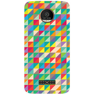 GripIt Art Shatter Printed Case for Motorola Moto Z
