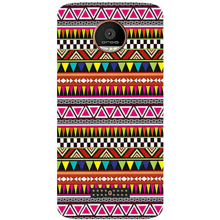 GripIt Tumbler Pattern Printed Case for Motorola Moto Z Play