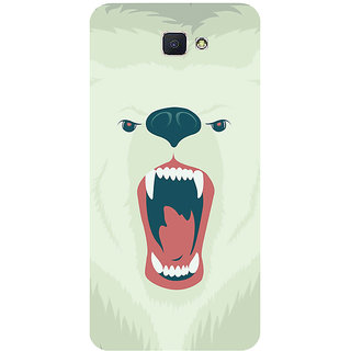 GripIt Polar Bear Printed Case for Samsung Galaxy J7 Prime