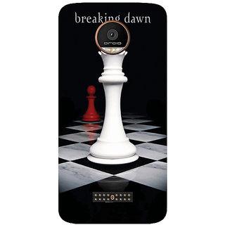 GripIt Breaking Dawn Chess Printed Case for Motorola Moto Z