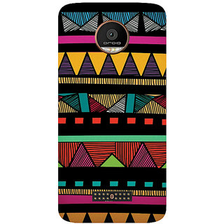GripIt Funky Pattern Printed Case for Motorola Moto Z