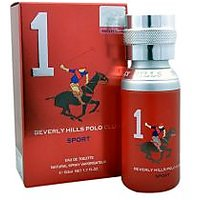 Beverly Hills Polo Club Sport 1 Eau De Toilette - 50 Ml (For Men)