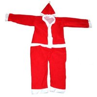 Christmas Party Wear Santa Claus Fancy Dress Costume For Kids GM