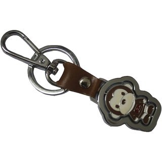 Exclusive Brown Monkey Design Key Chain Key Rings For Bike Or Car