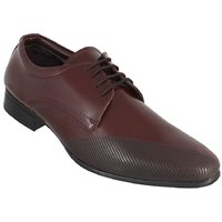 Peter John Leather's Men Brown Lace-up Formal Shoes - 101438910