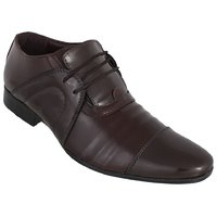 Peter John Leather's Men Brown Lace-up Formal Shoes - 101438971
