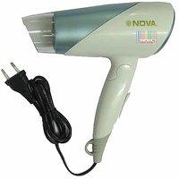 Nova 1800W Hot & Cold Electric Hair Dryer Foldable, Ladies, Girls, Women Style