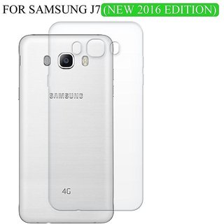 Wellelectronic Samsung Galaxy J7 (2016) Transperent Back cover