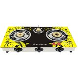 SURYA SMART AUTOMATIC 3 BURNER GAS STOVE COOKTOP at shopclues