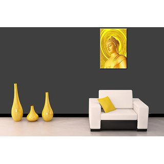 Transmute Golden Budha Canvas Painting BECP96