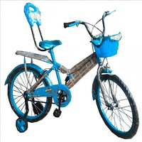 Oh Baby Baby 50.8 Cm (20) Double Seat Bicycle With SPOKE WHEEL In Blue Color For Your Kids SE-BC-20