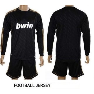 Navex Football Jersey Black