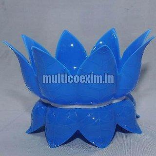 Plastic Matka Stand blue