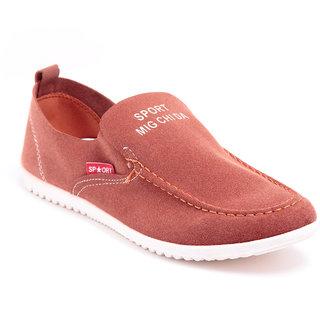 Foot 'n' Style Dusty Brown Shoe fs293