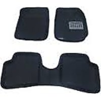 CARMART 3 D Car Mats for Ford Ecosports Black