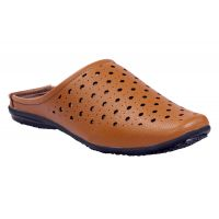 Leather Park Tan Men's Synthetic Leather Sandals - 101504332