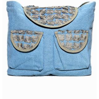 Diwaah Blue Water Resistant Backpack