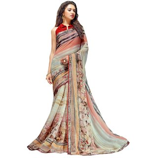 Roop Kashish Multi Georgette Saree