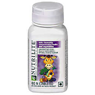 Amway Nutrilite Kids Chewable Concentrated Fruits  Vegetables (60N tablets)