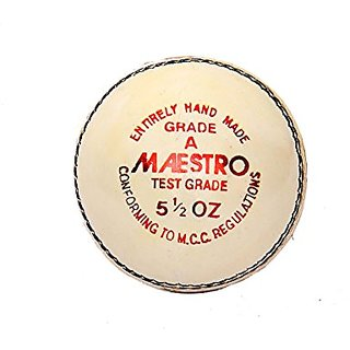 Cricket Ball White CW Maestro (Set Of 3)