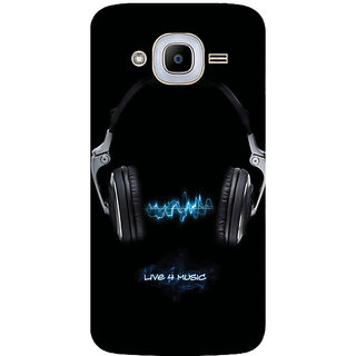 GripIt Live 4 Music Printed Case for Samsung Galaxy J2 Pro