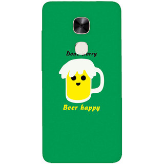 GripIt Beer Happy Printed Casefor LeEco Le Max 2