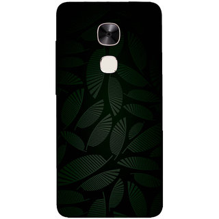 GripIt Dark Tropical Printed Casefor LeEco Le Max 2
