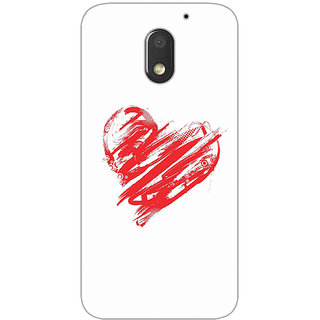 GripIt Sweet Love Printed Case for Motorola Moto E3