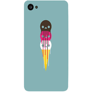GripIt Dripping Ice Cream Cone Printed Case for Lenovo Zuk Z2 Plus
