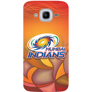 GripIt Mumbai Indians (RED) Case for Samsung Galaxy J2 Pro