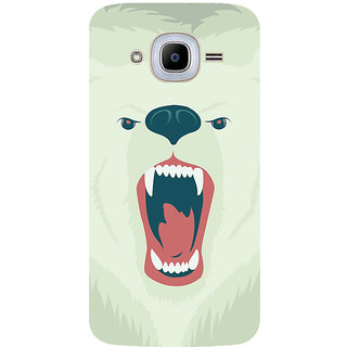 GripIt Polar Bear Printed Case for Samsung Galaxy J2 (2016)