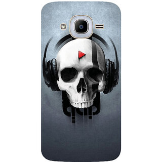 GripIt QAP Music Printed Case for Samsung Galaxy J2 Pro