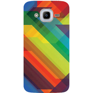 GripIt Rainbow Pattern Printed Case for Samsung Galaxy J2 Pro