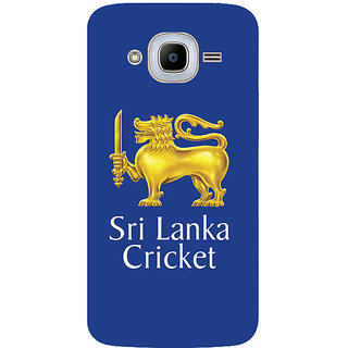 GripIt Sri Lanka Team Player Back Cover for Samsung Galaxy J2 (2016)