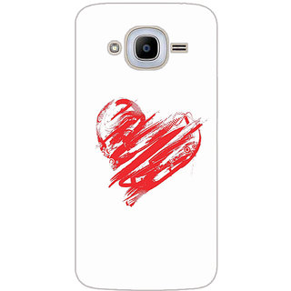 GripIt Sweet Love Printed Case for Samsung Galaxy J2 (2016)