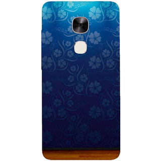 GripIt Flower Wallpaper Printed Casefor LeEco Le Max 2