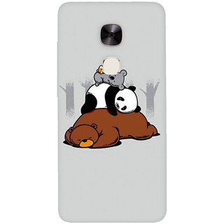 GripIt Sleepy Animals Printed Casefor LeEco Le Max 2