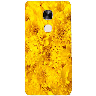 GripIt Yellow Flowers Printed Casefor LeEco Le Max 2