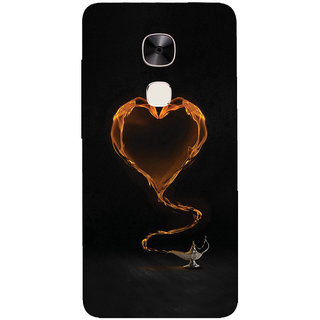 GripIt Yellow Heart From The Magic Lamp Printed Casefor LeEco Le Max 2