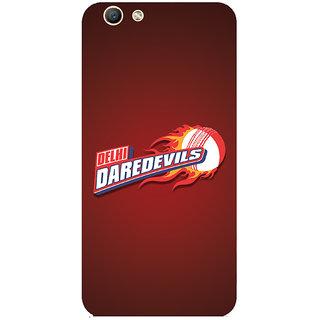 GripIt Delhi Dare Devils (RED) Case for Oppo F1s